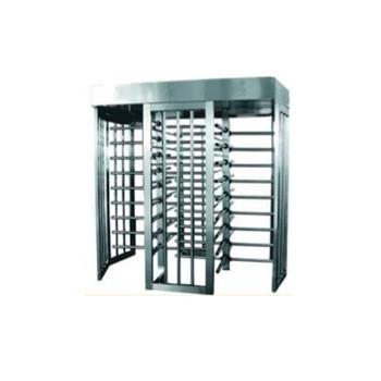 Full Height Dual Gates Stainless Steel Turnstile TS-200-D