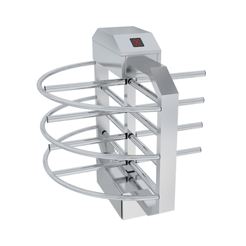 Half Height Turnstile, Full Stainless Steel TS-1250