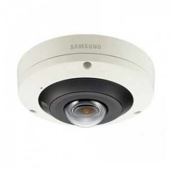 Samsung PNF-9010R 12MP 4K H.265 Indoor Fisheye IP Security Camera