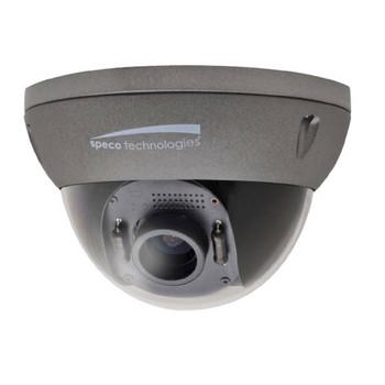 Speco O2ID4M 2MP Indoor/Outdoor Dome IP Security Camera - 2.8~11mm Motorized Lens, 1080p, Dark Grey Housing, Weatherproof, Built-in Heater