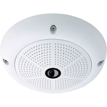 Mobotix MX-Q26A-6N016 6MP Indoor/Outdoor Fisheye Dome IP Security Camera - Night Only