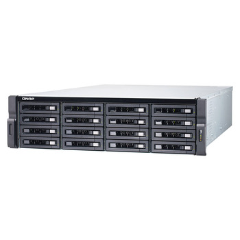 QNAP TDS-16489U-SB2-US 16-bay Dual Processor NAS Enclosure - 3U, rackmount