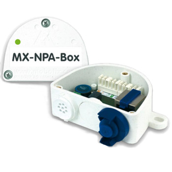 Mobotix MX-NPA-BOX Weatherproof PoE Injector and Network Connector