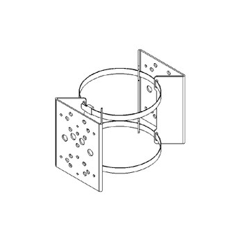 Raytec PBC-2 Pole Bracket Clamp