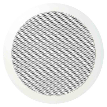 "Speco SPG86T 86 Series - 8"" 70/25V Modern Grille In-Ceiling Speaker"