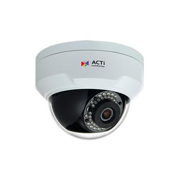 ACTi Z91 4MP IR H.265 Outdoor Mini Dome IP Security Camera