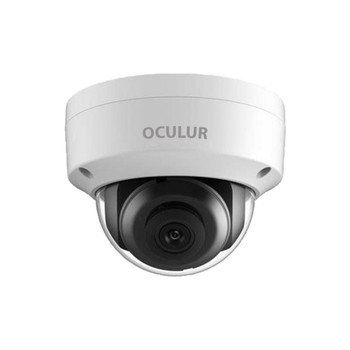 Oculur X5DF-4MM 6MP IR H.265+ Outdoor Dome IP Security Camera