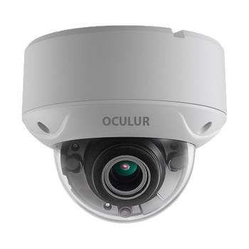 Oculur C5DV 5MP EXIR Outdoor Dome HD-TVI Security Camera with Motorized Lens