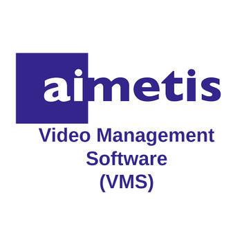 Senstar Aimetis AIM-SYM7-E Enterprise Edition V7 VMS Device License - Multi-server, High Availability, Video Wall and Integrations Support