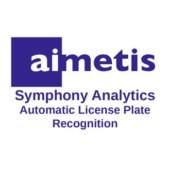 Senstar Aimetis AIM-SYM7-VA-12 Symphony Analytics Automatic License Plate Recognition V7 (Up to 4 Cameras)