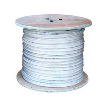 LTS LTAC2030W 500ft Coaxial Siamese Cable w/o Connectors