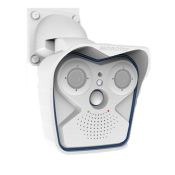 Mobotix MX-M16A 6MP Outdoor IP Security Camera - M16 Body Only White