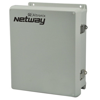 Altronix NetWay4EWP Outdoor PoE+ Hardened 120W Power Supply/Battery Charger and Switch