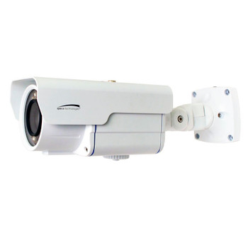 Speco O2LPR67 2MP IR H.265 License Plate Capture LPR Outdoor Bullet IP Security Camera