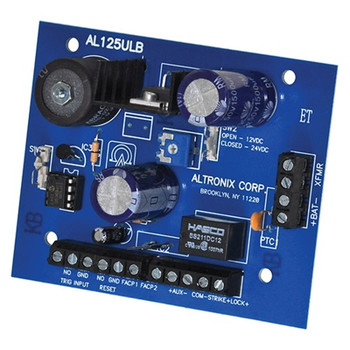Altronix AL125ULB 2 Output Access Control Power Supply Charger