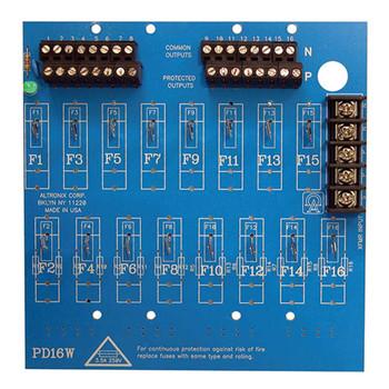 Altronix PD16WCB 16 Output Power Distribution Module