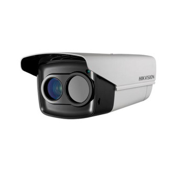 Hikvision DS-2TD2235D-50 IR Thermal Outdoor Bullet IP Security Camera - 50mm Fixed Lens