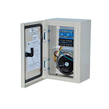 Altronix WPTV248300UL 8 Fused Outputs Outdoor CCTV Power Supply - 24/28VAC @ 12.5A