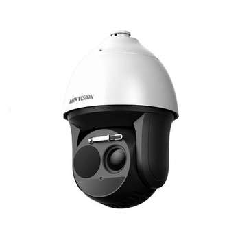 Hikvision DS-2TD4166-25 Thermal + Optical Bi-spectrum Speed Dome PTZ IP Security Camera - 25mm Thermal Lens