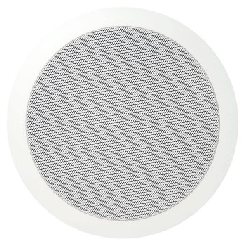 "Speco SPG66T 86 Series - 6"" 70/25V Modern Grille In-Ceiling Speaker"