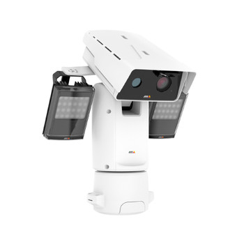 AXIS Q8742-LE 640x480 Bispectral Thermal PTZ IP Security Camera 01017-001 - 35mm 30fps 24V, Built-in IR Illuminator