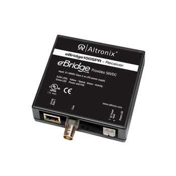 Altronix eBridge100SPR 51-56VDC/60W Ethernet Over Coax Receiver