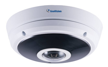 Geovision GV-EFER3700 3MP H.265 IR Outdoor Fisheye Rugged IP Security Camera 84-EFR3700-P010