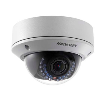Hikvision DS-2CD2712FWD-IS 1.3MP IR Outdoor Dome IP Security Camera - Audio I/O, Alarm I/O