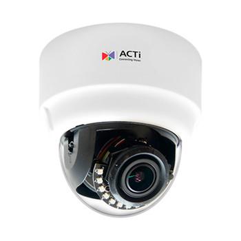 ACTi A61 3MP IR H.265 Indoor Dome IP Security Camera