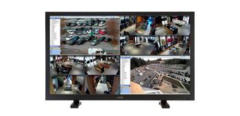 "ViewZ USA VZ-43UHD 43"" 4K LED UHD Panel CCTV Monitor - QUAD Input"