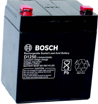 Bosch D1250 12V 5AH Battery