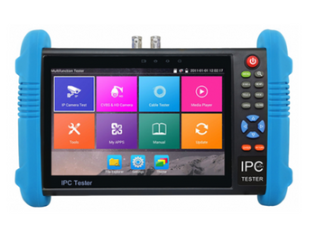 "ST-IP-TEST2 7"" Touch Screen IP Security Camera Tester - New 4K H.265 IP/HD-TVI/CVI/AHD/Analog Camera Tester"