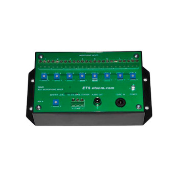 ETS SMM8 8 Channel Microphone Mixer (zone expander)