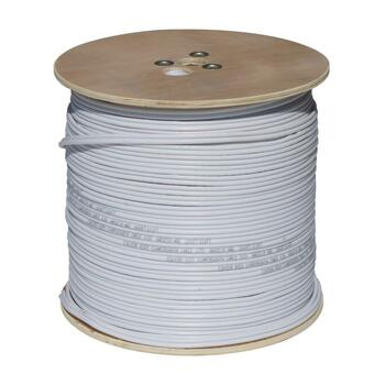 Oculur CB59-1000W RG59+18/2 CM White 1000ft Siamese CCTV Cable