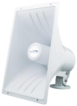 """Speco SPC40RP 8 Ohm Weatherproof PA Speaker Horn - 6.5"""" x 11"""""""