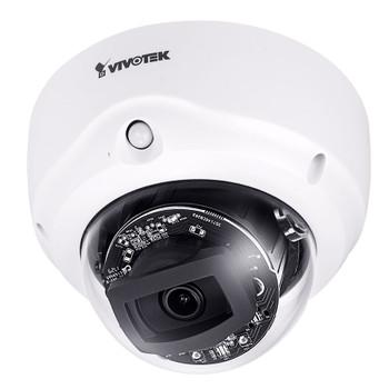 Vivotek FD9367-HTV 2MP IR H.265 Outdoor Dome IP Security Camera - 2.8~12mm Varifocal Lens