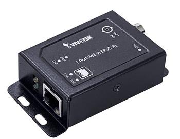 Vivotek AP-FEX-0100-R Indoor ePoC Extender - Analog to IP, 1 Port EPoC PoE in Rx Module