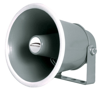 "Speco SPC10 6"" Weather-Resistant Aluminum Speaker Horn - 8 Ohms"