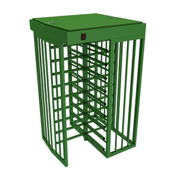Full Height Bi-Directional Turnstiles TS-100-S PS - Painted Steel