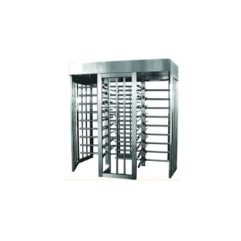 Full Height Dual Gate Turnstile TS-200-D PS - Painted Steel
