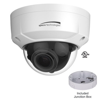Speco O4D2M 4MP IR Outdoor Dome IP Security Camera