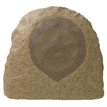 """Speco SPR8TB 8"""" 70/25V Outdoor Rock Speaker - Sandstone Brown"""