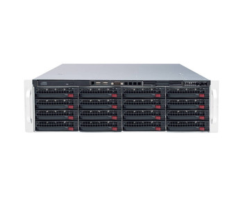 Digital Watchdog DW-BJER3U16T 8 Channel Network Video Recorder - 12TB HDD included, Up to 128ch