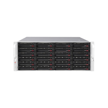 Digital Watchdog DW-BJER4U100T 8 Channel Network Video Recorder - 100TB HDD included, 24-Bay