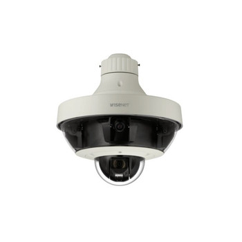 Samsung PNM-9320VQP H.265 Multi-Sensor Multi-Directional Dome IP Security Camera