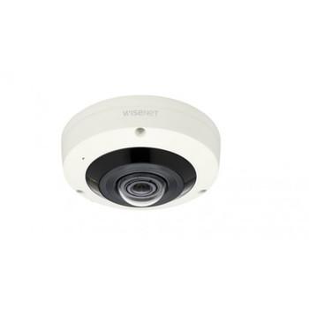 Samsung XNF-8010RW 6MP IR H.265 Indoor Fish Eye IP Security Camera