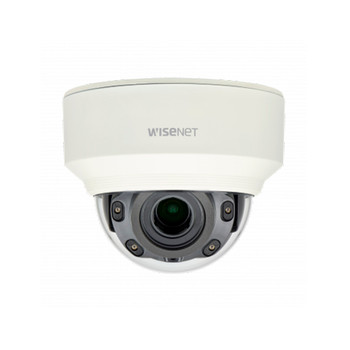 Samsung XND-L6080RV 2MP IR H.265 Indoor Dome IP Security Camera - 60fps
