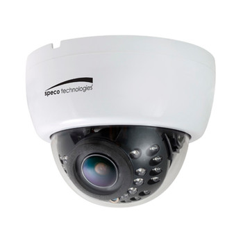 Speco HLED33DTW 2MP IR Indoor Dome HD-TVI Security Camera