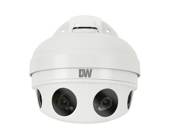 Digital Watchdog DWC-PZV2M72T 48MP Multi-sensor Panoramic Outdoor Dome IP Security Camera