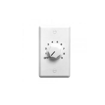 Speco WAT10W 10W 70/25 Volt Wall Plate Volume Control, White